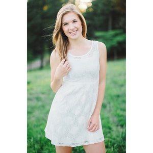 Romy Lace Dress White